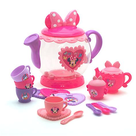 Disney Store Japan Minnie Tea Cup Set For One Ori minnie mouse tea pot playset
