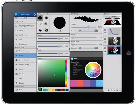 photoshop apps for android adobe photoshop for tablets looms nearer cnet