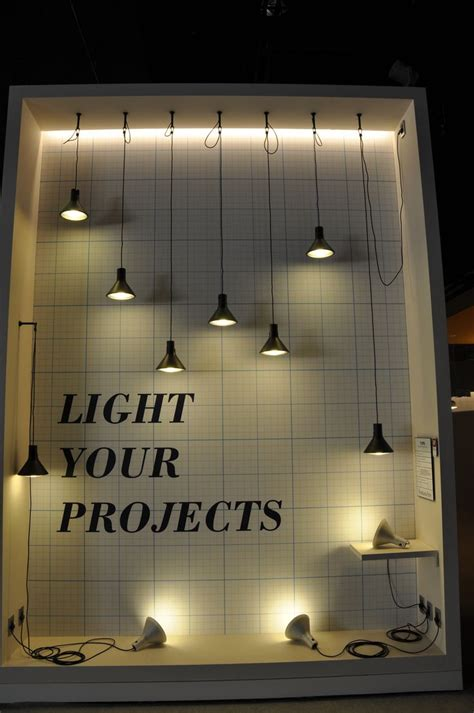 lights for window display 25 best ideas about stand design on booth