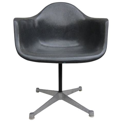 grey swivel armchair herman miller eames elephant grey swivel armchair at 1stdibs