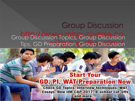 Topics For Discussion For Mba Students by Ppt Discussion Gd Topics Gd Topics With