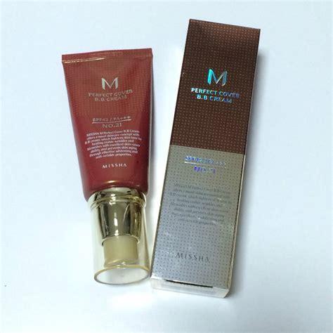 Missha M Cover Bb Spf 42 Pa 21 Light Beige 50ml missha m cover bb no 21 spf42 pa 50ml foundation