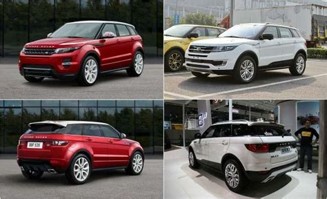 land wind vs land rover range rover evoque chinese automaker clones suv calls it