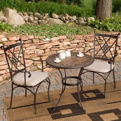 palazetto lucca mosaic bistro set contemporary patio