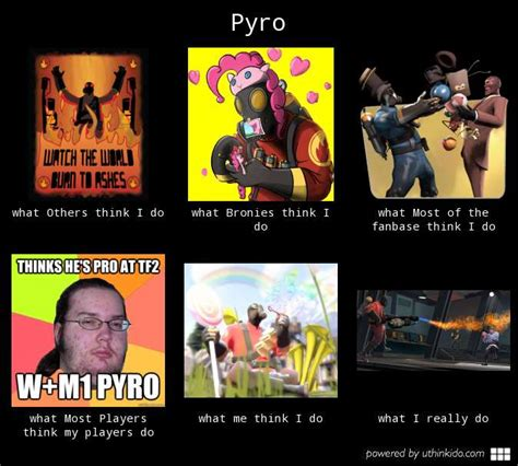 Pyro Meme - pyro what really do what people think i do what i