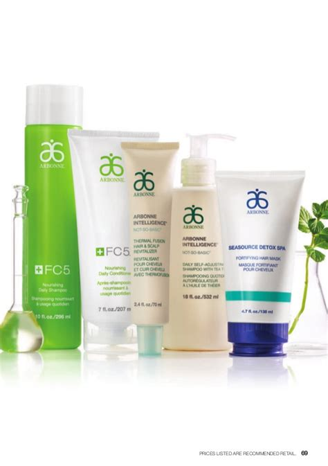 Arbonne Seasource Detox Spa Fortifying Hair Mask by Arbonne Australian Catalog May 2015