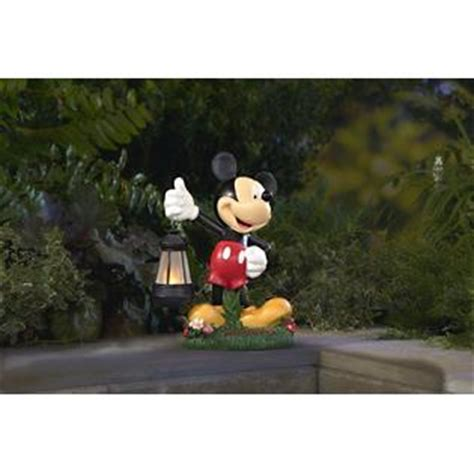 solar powered mickey mouse statue enjoy some magical moments at kmart