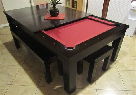 pool table top for dining table moderna pool table convertible dining table use j k to