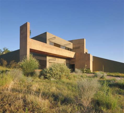 Coastal Home Floor Plans Desert House In Albuquerque By Modern Architect Antoine