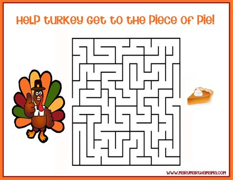 free printable turkey mazes free printable thanksgiving activities for kids mary