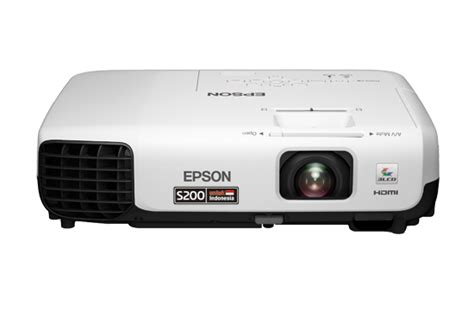 Proyektor Epson Eb S100 spesifikasi dan tipe proyektor epson terbaru epson eb s200 eb x200 dimensidata