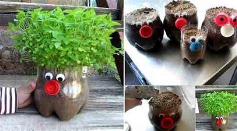 blog pot bunga  bahan bekas