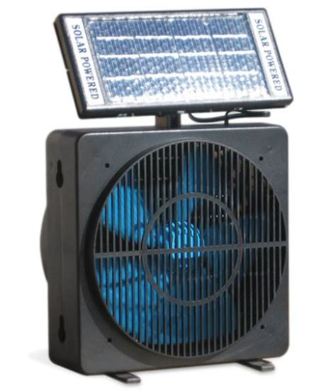 solar powered room fan with adjustable solar panel