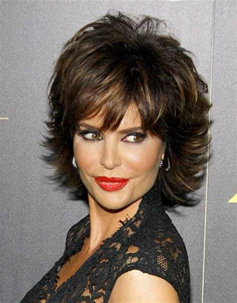 back view lisa rinna hair short hairstyles back view over 50