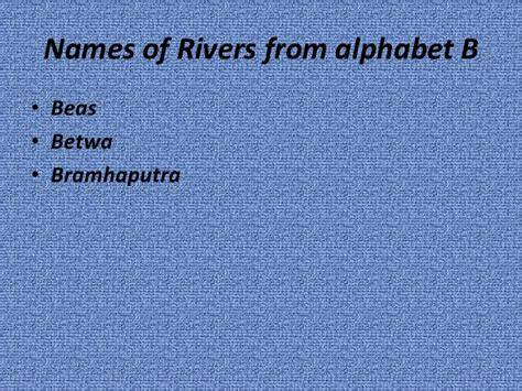 names of rivers rivers of india