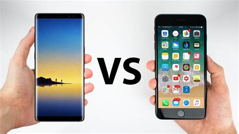 8 iphone vs 8 plus galaxy note 8 vs iphone 8 plus le test de rapidit 233 en faveur de quel smartphone