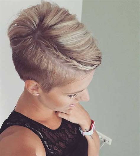 hair braided on the top but cut close on the side 30 nice braids for short hair short hairstyles 2016