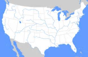 united states geography rivers and lakes