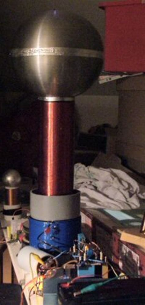 Dual Resonant Tesla Coil Dr Sstc2 Dual Resonant Solid State Tesla Coil