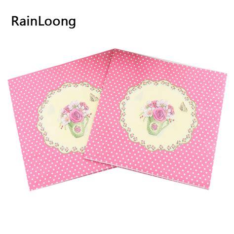 Decoupage Napkin 33x33 Cm 1pack 20 Pcs 17 achetez en gros fleur de serviettes en papier en ligne 224