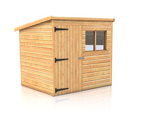 Garden Sheds Sizes by Malvern Pent Garden Shed Size From 6 X4