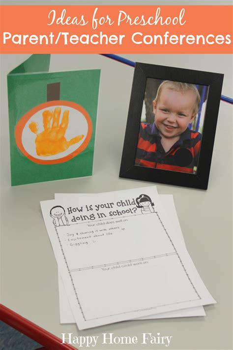 ideas  preschool parentteacher conferences happy home fairy