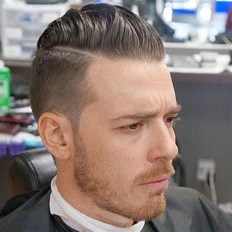 hard part hair men 25 cool medium length men s haircuts high fade hair