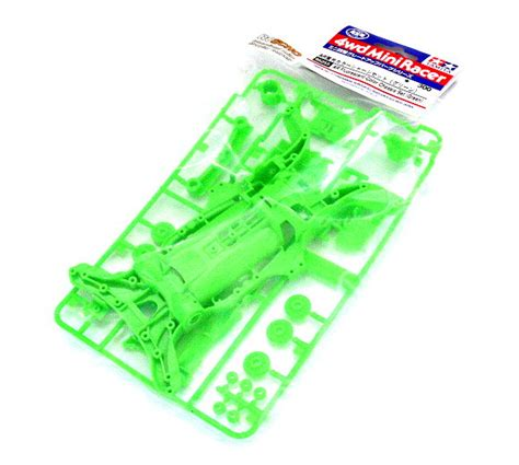 Tamiya 95255 Mini 4wd Parts Jr Fluorescent Green Color Ar Chassis Set 1 walkera ufo mx400 z 05 fixing board bottom for mx400 ufo quadcopter ax005 rc spare parts