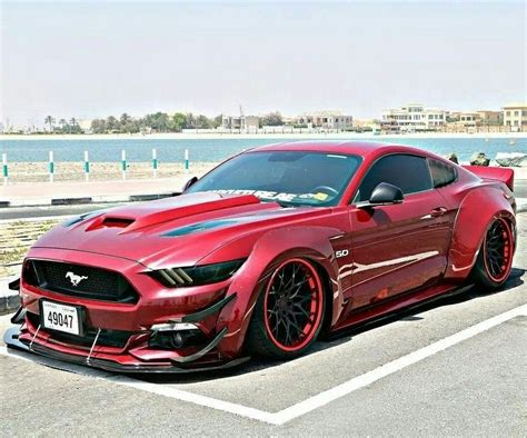 Auto Stang by Wide Stang Z Litwhips Coches Mustang