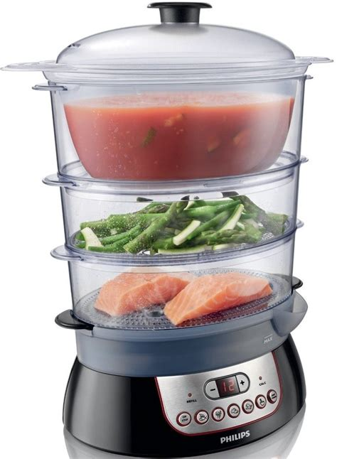 Food Steamer Panci Kukus Electric Philips Hd 9140 philips hd9140 91 essentials collection steamer 900w genuine new ebay