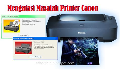 tutorial reset printer canon ip 1980 resetter canon pixma ip2770 quot ariostudio quot