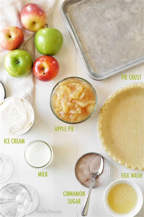 apple pie milkshakes the chic site