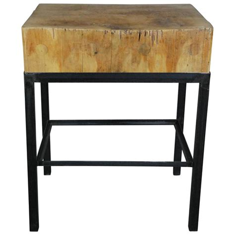 butcher block island with chairs 1930 maple butcher block island at 1stdibs