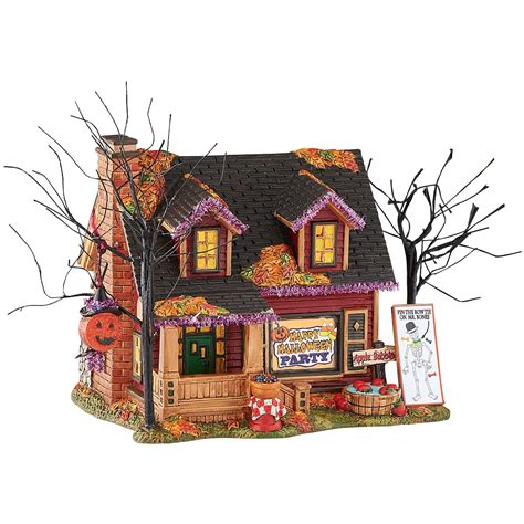 party city party lights department 56 4051008 halloween party house