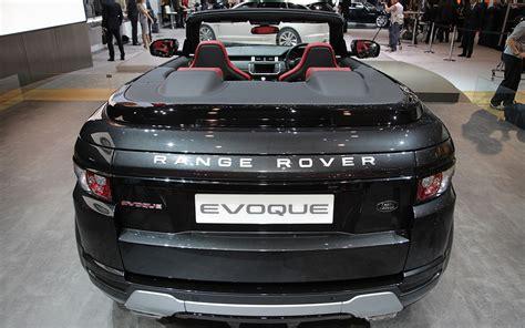 range rover back land rover range rover evoque convertible 2012 geneva