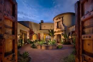 Mediterranean Style Outdoor Furniture - courtyard design ideas exterior mediterranean with wood