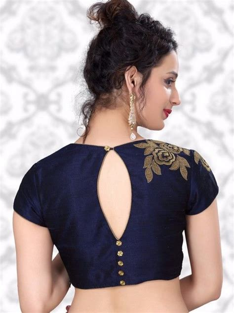 Indian Blouse Navy the 25 best blouse designs ideas on saree