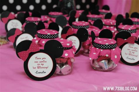 Minnie Mouse Baby Shower Favors by Minnie Mouse Baby Shower Favors