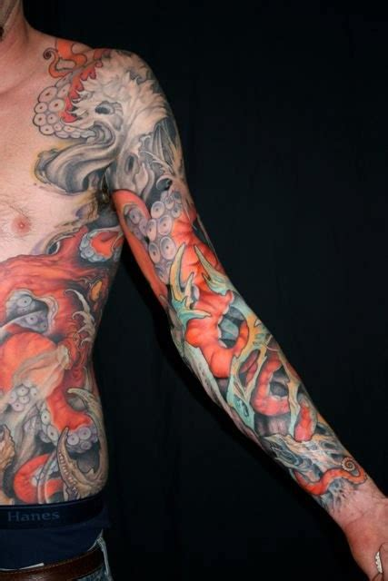 octopus sleeve tattoo 190 best images about octopus on the