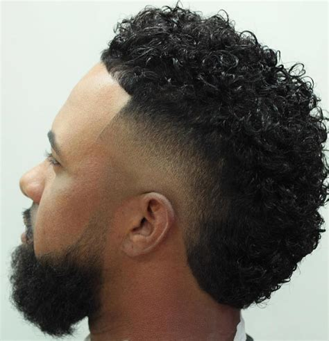 curly fades for men 40 statement hairstyles for men with thick hair
