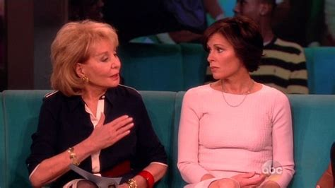 We All Knew Barbara Gets Snippy With Elizabeth Vargas | we all knew barbara gets snippy with elizabeth vargas