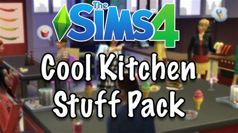cool kitchen stuff the sims 4 cool kitchen stuff pack first impressions