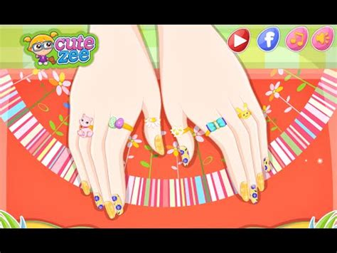 design clothes online for fun barbie easter nails designer fun online nail fashion
