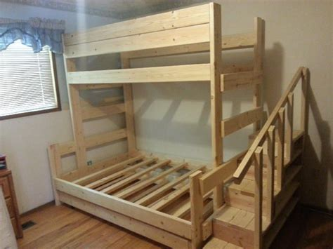 2x4 Bunk Beds 131 Best Images About Ww Beds Plans Ideas On 2x4 Projects Loft Beds And White