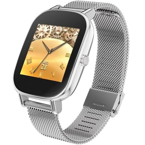 Skmei Jam Tangan Oled Smartwatch Fitness Notification L28t Yellow asus zenwatch 2 silver metal 45mm wi502q silver