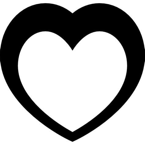 imagenes en blanco y negro de corazones coraz 243 n blanco dentro de coraz 243 n negro iconos gratis de