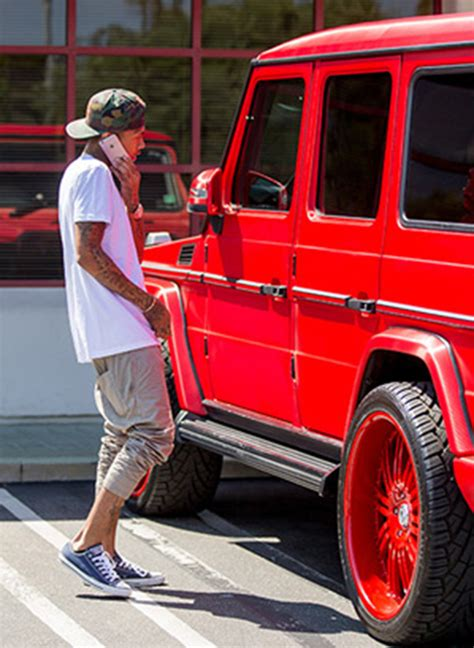 pink g wagon kylie jenner s car repossessed tyga owes money on red