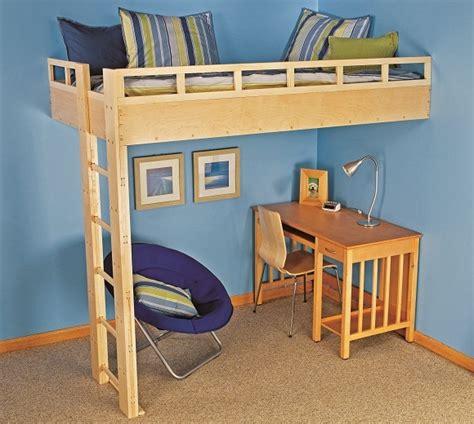 how to build a size loft bed with desk build a loft bed black decker