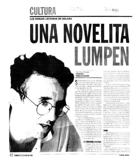 una novelita lumpen narrativas i 241 igo madrigal luis biblioteca nacional digital de chile