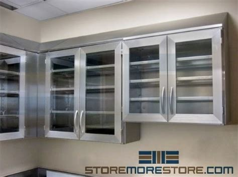 stainless steel wall cabinets stainless steel wall cabinets worktables for sterile storage